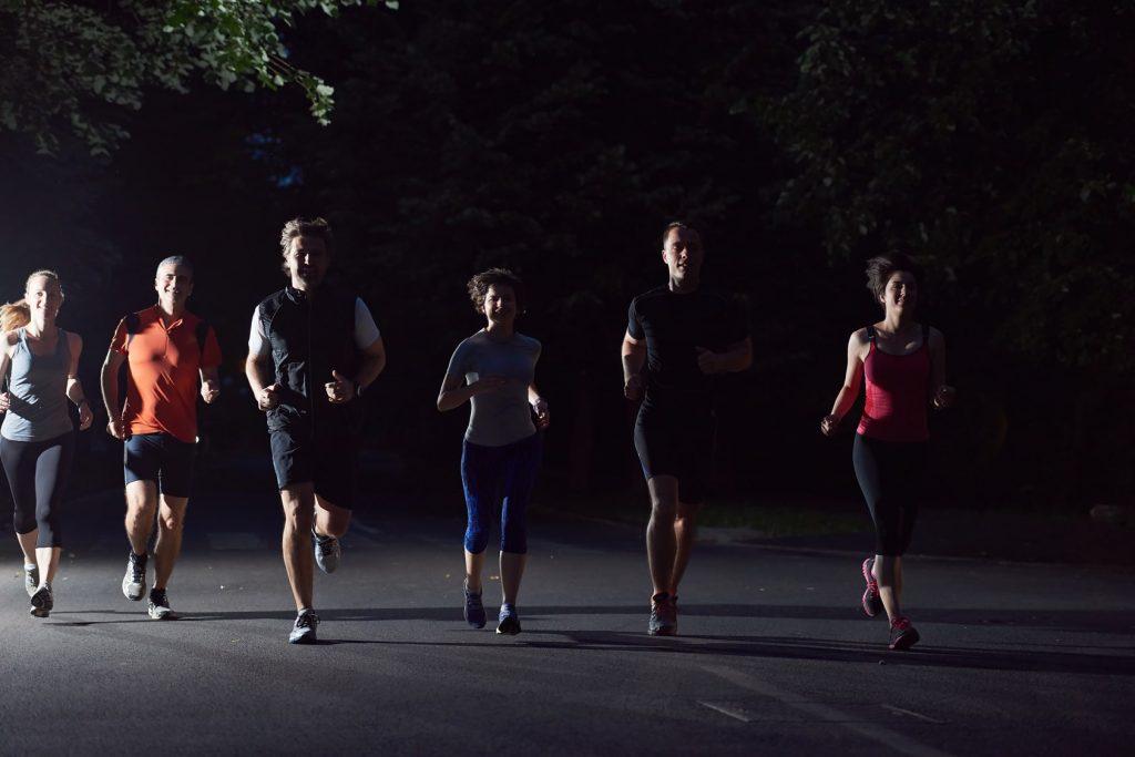 Maratón nocturna de Pueblo Esther